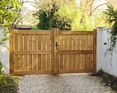 Wood Fence Gates, Wooden Gates, Backyard Gates, Driveway Gate, Front Gates, Entrance Gates, Building A Wooden Gate, Farm Gate, Building Concept