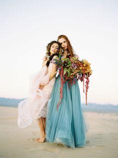 Allure Bridesmaids Desert Shoot with Brumley & Wells