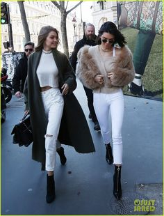 Kendall Jenner & Gigi Hadid Prep for Victoria's Secret Fashion Show!: Photo 3816565 | Gigi Hadid, Kendall Jenner Pictures | Just Jared