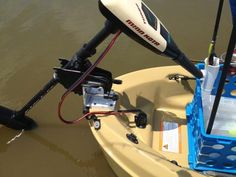 One of the most popular applications for the V-Lock is to mount a trolling motor, on boats and kayaks. There are a couple kayak manufacturers who offer the V-Lock as standard equipment on new units sold. Kayak Fishing, Fishing Tips, Fishing Boats, Fishing Stuff, Kayak Trolling Motor, Kayak Accessories, Mount System, Boat Plans, Outdoor Play