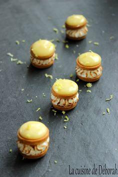 Tarte citron revisitée au yuzu / Mini Lemon and yuzu meringue Pie recipe! One-bite lemon meringue pies recipe!