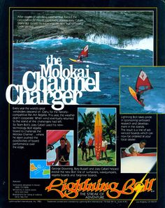 The Molokai Channel Charger, Lightning Bolt