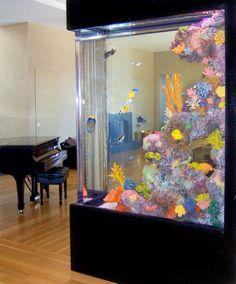 Home - Ocean Experience - Custom Saltwater Aquarium Design & Maintenance in San Francisco Bay Area  http://ocean-experience.com/gallery.html