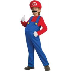 Super Mario Brothers: Boys are so obsessed with those characters that they want to look like those they see while playing video games.
