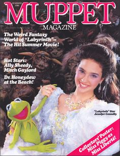 To dance with Jareth the Goblin King in a magical ballroom wearing an extravagant gown may not be every girl's fantasy, but watching Jennifer Connelly and David Bowie in that setting has inspired many daydreams and wedding dress designs. Jim Henson Labyrinth, Labyrinth 1986, Labyrinth Movie, Labyrinth Quotes, David Bowie, Requiem For A Dream, Labrynth, Fraggle Rock, The Muppet Show