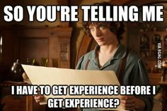 Getting a job nowadays