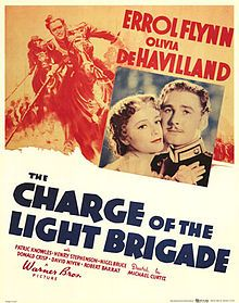 The Charge of the Light Brigade (1936 film) - with Errol Flynn, Olivia de Havilland, David Niven etc Directed by Michael curtiz