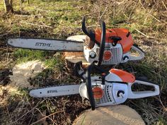 MS201 MS441 Firewood Storage, Tool Storage, Wood Cutter, Stihl Chainsaw, Power Tools, Outdoor Power Equipment, Guns, Tattoo, Business