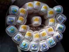 Masmelos decorados para el nuevo Baby Shower de Samuel y Támara