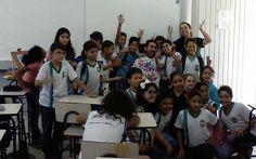 Palestra na escola Mysue em Araçoiaba