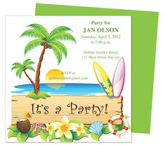 Coolers St Birthday Invitation Party Templates Printable DIY - Birthday invitation in words