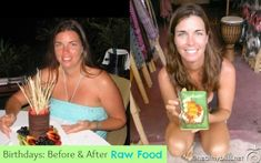 Raw Food Diet: Before and After Pictures