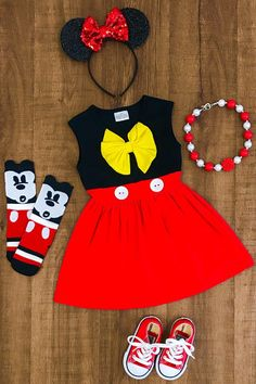 Your place to buy and sell all things handmade Girls Minnie Mouse Dress Perfect for your Disney Vacation! Available in Sleeveless Tank or Flutter Short Sleeve Comes in sizes and Cotton, Spandex Includes: Dress Only Mickey Mouse Dress, Minnie Dress, Minnie Mouse Costume Toddler, Minnie Mouse Birthday Outfit, Minnie Mouse Baby Stuff, Mini Mouse Outfit, Red Minnie Mouse, Little Girl Outfits, Baby Outfits