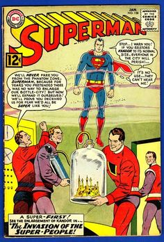 SUPERMAN #158 * The Enlargement of Kandor * Classic Issue * $33.15