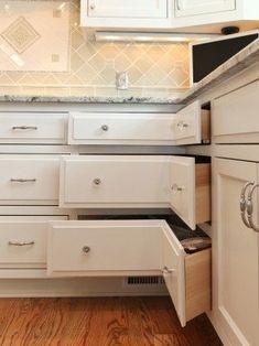 Decorative corner cabinet 34