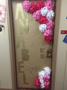Big little reveal door! Kappa delta sorority UNIVERSITY OF ARKANSAS