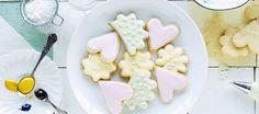 Pikeeri eli royal icing - K-ruoka Biscuits, Cupcakes, Food Coloring, Royal Icing, Cookies, Breakfast, Healthy, Sweet, Desserts