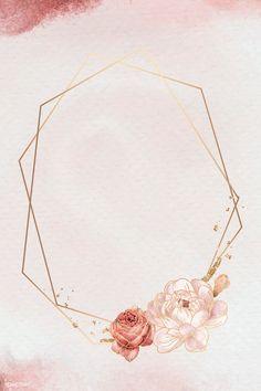 Framed Wallpaper, Flower Background Wallpaper, Flower Phone Wallpaper, Pink Wallpaper Iphone, Pink Glitter Background, Frame Background, Backgrounds Free, Flower Backgrounds, Mises En Page Design Graphique