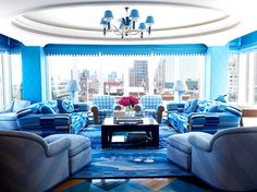 Anthony Baratta Design #blue #patterns