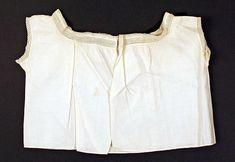 1781___ Shirt. linen. American.
