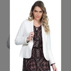 Amando   CASACO BLAZER CREME MALWEE  COMPRE AQUI!  http://imaginariodamulher.com.br/look/?go=2jxhrHb  #comprinhas #modafeminina#modafashion  #tendencia #modaonline #moda #instamoda #lookfashion #blogdemoda #imaginariodamulher