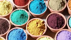 8 estupendos tintes naturales para el cabello Tinta Natural, Thangka Painting, Tadelakt, Arts And Crafts, Diy Crafts, Clay Tutorials, Texture Art, Paper Mache, Paintings For Sale