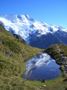 Sealy Tarns, on teh tramp to Mueller Hut http://www.aatravel.co.nz/about-newzealand/editorial.php?pagename=canterbury-region-intro