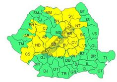 Nordul județului sub cod galben de ninsori si vijelii - https://goo.gl/A4Oyhn