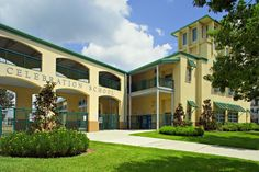 Visit our website for a photo tour of Emerson at Celebration in Celebration, FL. Celebration High School, Celebration Fl, Metal Ceiling, Metal Walls, Panel Systems, Exterior, Tours, Mansions, Architecture
