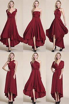 eDressit Convertible High Low Bridesmaid Dress Prom Dress (07154617)