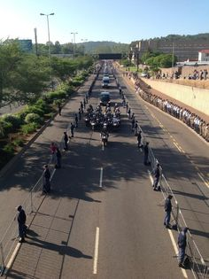 #Madiba,last journey #Pretoria Pretoria, South Africa, Sidewalk, Journey, Walkways, Pavement