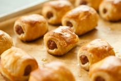 Pigs in a Blanket with Cranberry-Mustard Dipping Sauce   using cocktail sausages    wholefoodmarket.com
