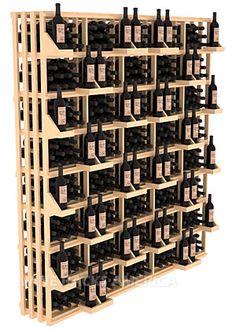 Rectangular Bin Wall Display 520 Bottle   Retail Edge Series™ Wine Rack