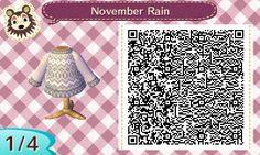 ACNL QR Code: November Rain Sweater