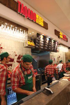 Taqado Mexican Kitchen Branding by Moloobhoy & Brown , via Behance