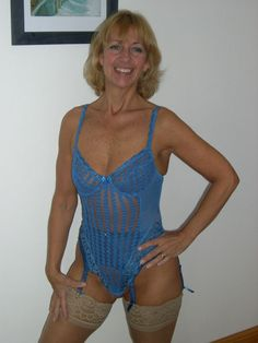 Blue Body Suit