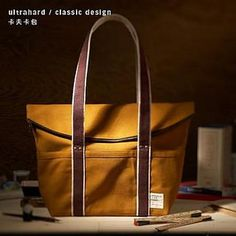 Buy 'Ultrahard – Contrast-Trim Canvas Tote' at YesStyle.com plus more Taiwan items and get Free International Shipping on qualifying orders.