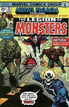 Comics Code - The Legion Of Monsters - Vampire - The Most Team-up Of All - Sculp