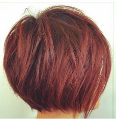 Layered Bob Hairstyles, Short Bob Haircuts, Hairstyles Haircuts, Fringe Hairstyles, Hairdos, Brunette Hairstyles, Female Hairstyles, Medium Hairstyles, Short Stacked Haircuts