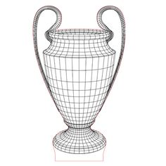 Sport cup prize 3d illusion lamp vector file for CNC - 3bee-studio
