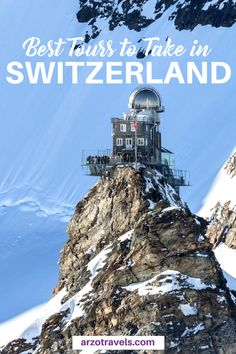 Here are my favorite tours in Switzerland - tours that are worth the money and that will leave you speechless. I #myswitzerland #verliebetindieschweiz #schweiz #besttours Switzerland Tours