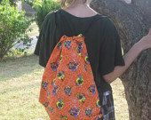 Halloween Witch Drawstring Trick or Treat candy by BarbieLynns, $10.00