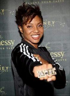 MC Lyte # Brooklyn Female #HipHop #Artist