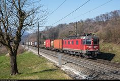 High quality photograph of SBB Re 620 (Re # 620 026 at Brugg (AG), Switzerland. Location Map, Photo Location, Container Terminal, Swiss Railways, Electric Locomotive, Belgium, Switzerland, Trains, Real Estate