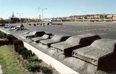 Ghost Parking Lot by SITE 1978