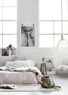 Rustic Minimalist Home Office minimalist living room cozy inspiration.Industrial Minimalist Bedroom Rugs minimalist home design shades. Home Decor Inspiration, Home Bedroom, Bedroom Interior, Bedroom Design, Interior Design Guide, Interior, Bohemian Interior Design, Bedroom Decor, House Interior