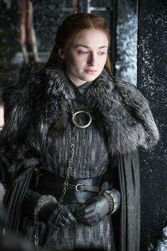 game of thrones sansa stark sophie turner jon snow kit harrington Game Of Thrones Cersei, Arte Game Of Thrones, Game Of Thrones Episodes, Game Of Thrones Funny, Game Thrones, Game Of Thrones Characters, Cersei Lannister, Daenerys Targaryen, Sansa Stark Costume