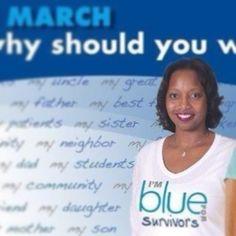 I'm Blue for Survivors