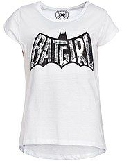 Camiseta estampada 'Batgirl'