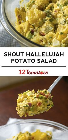 Shout Hallelujah Potato Salad. I will replace the sweet pickles with a good dill pickle.